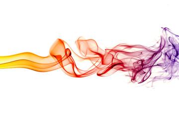 Abstract smoke art