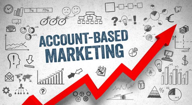 Account Based Marketing / Wall / Symbols / Arrow