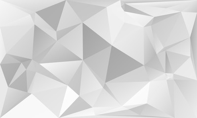 triangles abstract background - gray white