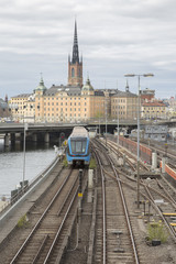 Local Train; Central Bridge; Stockholm