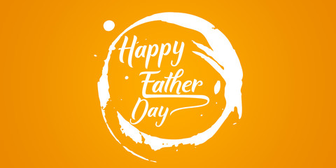 happy fathers day color colorful background