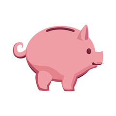piggy banking concept safe money icon vector illustration