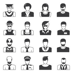 people avatar, user avatar icons