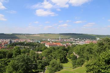 Würzburg am Main in Bayern