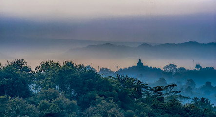 Borobudur Landscape View