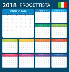 Planner 2018 - Italian Version