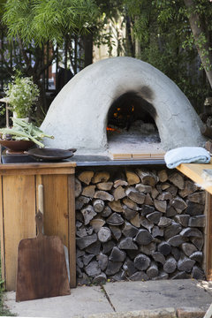 Handmade Pizza Oven Outdoor Kithen