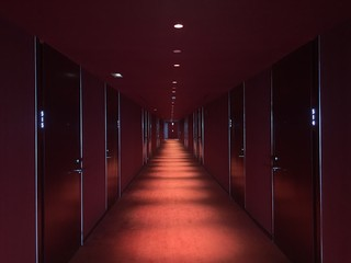 Red Carpet Hallway