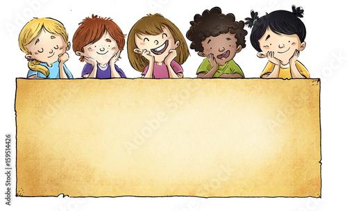 Dibujos Caras De Niños Felices Animadas: Dibujos De Rostros Ninos Felices Www Imagenesmy Com