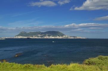 View from Parque de Centenario to Gibraltar