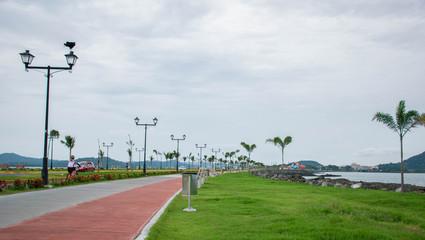 Fototapete - Causeway