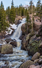 Waterfall at RMNP
