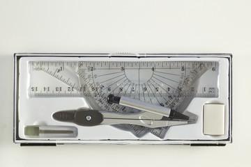 Set of mathematics school tools