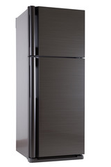 Home refrigerator  isolate on white background