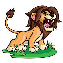 Lion Cute Cartoon