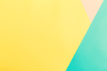 Blank vibrant pastel colored background