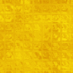 Honey yellow glass raster texture. Sunny yellow ice cubes. Bright yellow glass blocks.