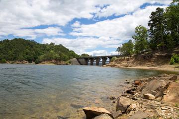 Dam at Broken Bow Lake