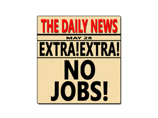 Newspaper No Jobs