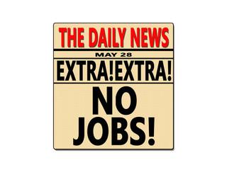 Newspaper No Jobs