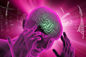 representation of human brain