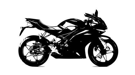 Motorcycle illustration isolated art