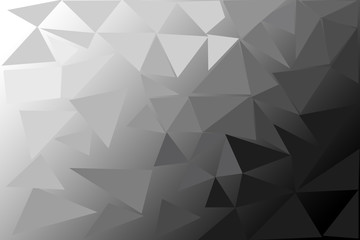 polygon abstract background.
