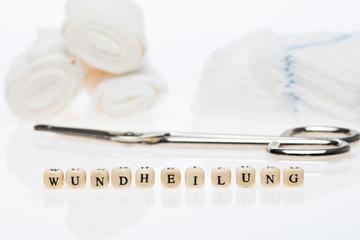 Wundheilung; Stethoskop