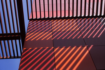 Abstract Colourful Architecture Details