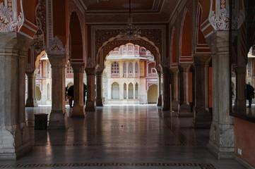 Indien - Rajasthan - Jaipur - Stadtpalast