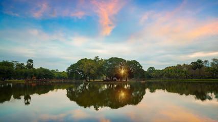 Sukhothai Historical Park, a UNESCO World Heritage Site in Thailand