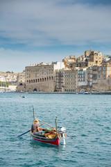 Taxi boat in Malta