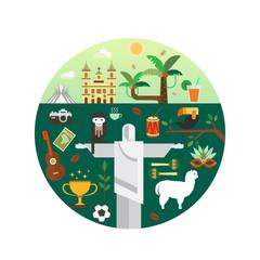 Brazil travel concept