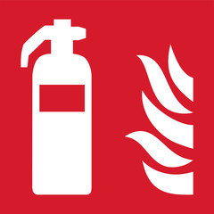 ISO 7010 F001 Fire extinguisher