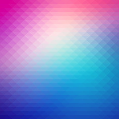 Abstract gradient art geometric background with soft color tone.