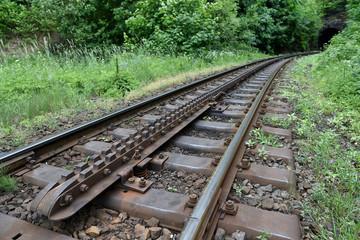 Cogwheel railway line