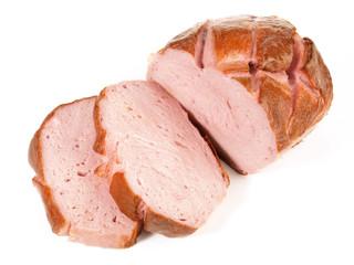 Fleischkäse in Scheiben