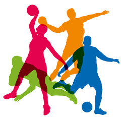 sport - sport d'équipe - football - basket - sport collectif - rugby - handball