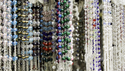 String beads rosary