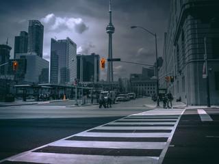 Deurstickers Toronto Toronto DownTown