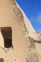 Rock cave in Cappadocia