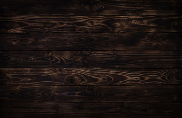 Dark wooden background, rustic wood
