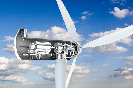 power turbine mechanical section