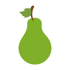 Sweet fruit pear icon vector illustration design graphic