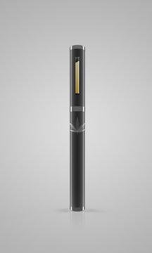 Medical Marijuana Vape Pen - 3D Rendering