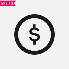 Money icon Vector.