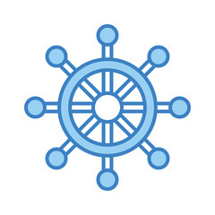 boat timon isolated icon vector illustration design