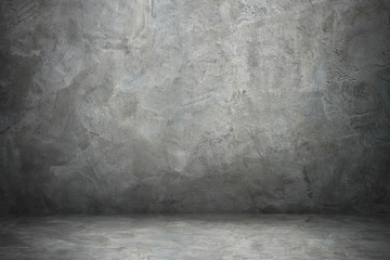 Wall Mural - design on cement and concrete with shadow for pattern and background