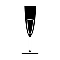 cocktail drink icon over white background vector illustration