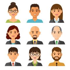 Bussines people avatars
